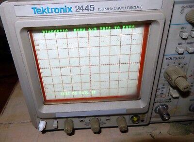 Tektronix 2445 Four Channel 150 Mhz Oscilloscope