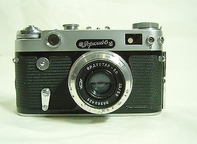 ZORKI-6 Rangefinder Camera With Industar 50mm f/3.5 Lens