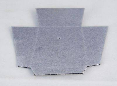 Lot Of 100 Jewelry Gift Presentation Box Cardboard Inserts Gray 1.75 X 1.5