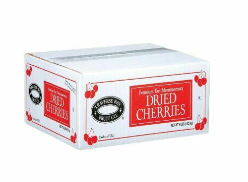 Dried Cherries,  Montmorency Dried Cherries, 4Lbs. Gluten Free,  Premium