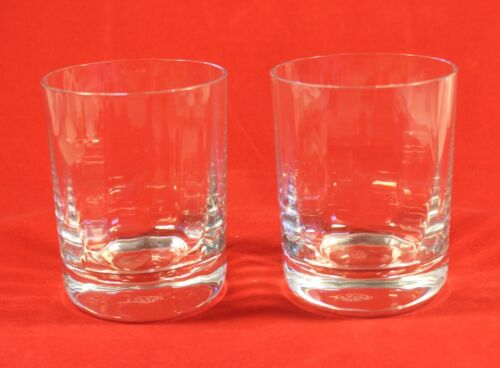 Baccarat MONTAIGNE OPTIC Tumbler Old Fashion / Rocks / Whiskey Crystal Glasses