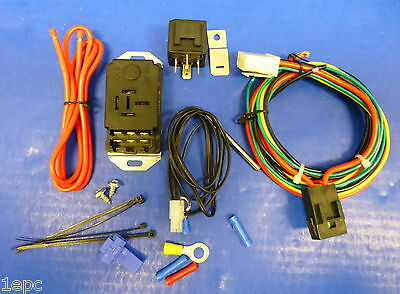 Proform 69599 Adjustable Electric Fan Controller Kit  Push In Probe with Relay