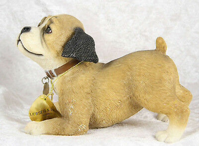 """Puppy By Leonardo Collection pedigree dog breed 4""""  tall no breed"""