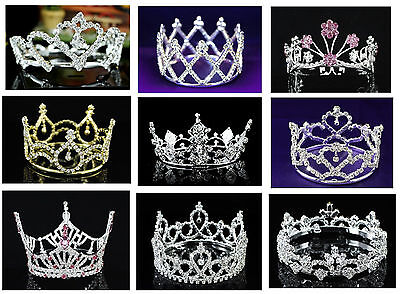 Baby Rhinestones Crystal Crown Tiara Photography Photo Props Costume ](Crown Prop)