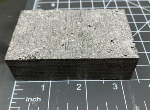 """Coarse Grain Graphite Blocks Approximately 1"""" x 2"""" x 3.25"""""""