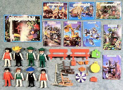 1997 - 2001 VINTAGE LOT - PLAYMOBIL TOYS & EXTRAS
