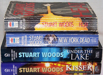 Set of 4 paperbacks by Action Thriller Best Selling Author Stuart