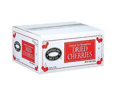 Traverse Bay Fruit Co. Premium Tart Montmorency Dried Cherries 4Lbs. Gluten Free