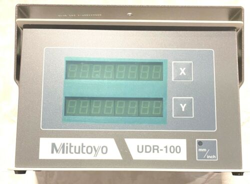 Mitutoyo UDR-100 Counter One Axis Basic System IN/MM 174-680A