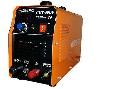 Pilot Arc Plasma Cutter Cut50df 110v220v 18 Consumables 50amp Colossal Tech