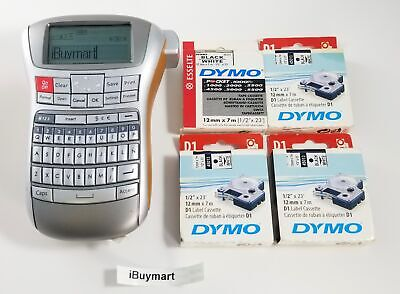 Dymo Label Manager 220p Office Label Maker W 5 Label Cassettes Free Shipping