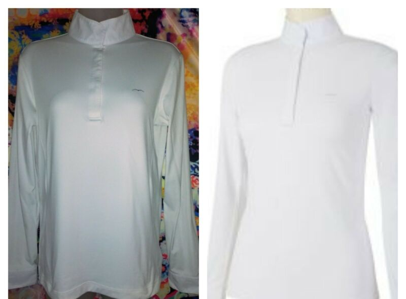 Animo Ladies Shirt - White Size I 44 excellent condition~ made in Italy