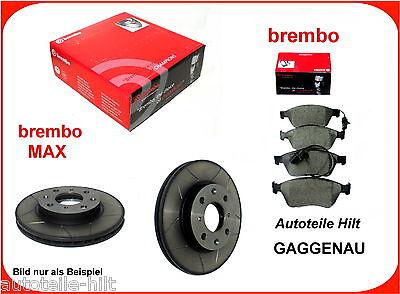 BREMBO SPORT MAX 2x BREMSSCHEIBE BELÜ Ø312 VORN FÜR AUDI A1 8X 1.4 2.0 AB 11