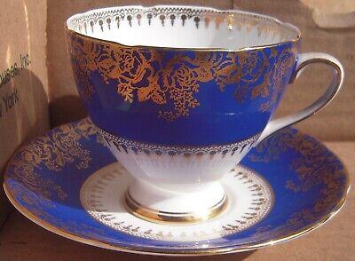 Vintage Gladstone Bone China Tea Cup & Saucer England Bone China England Tea Cup