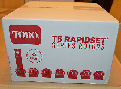 20 Toro T5PCK-RS Adjustable Arc, 5 Inch Rotor Rapid Set w/Check Valve T5