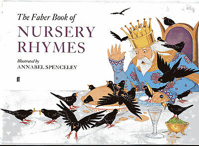 Faber Book Of Nursery Rhymes  With Music 1989 Annabel Spenceley Illustrations