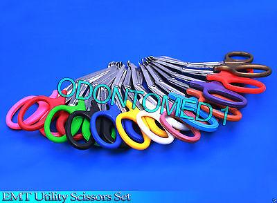24 Utility Scissors 7.5 Emt Medical Paramedic Nurse