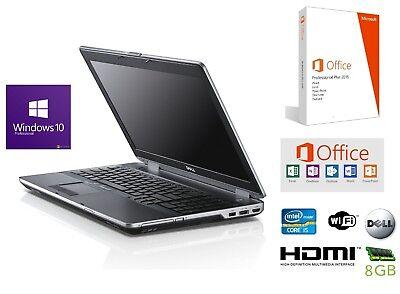 Notebook Dell Latitude E5530   15,5Zoll Core i5   8GB  500 GB  W10 und MS Office