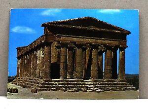 Agrigento - Tempio della Concordia [grande, colore, viaggiata] - Italia - L'oggetto può essere restituito - Italia