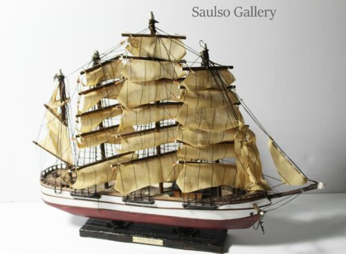 Antique Model of the Great Republic 1835 Clipper ship from prominent estate