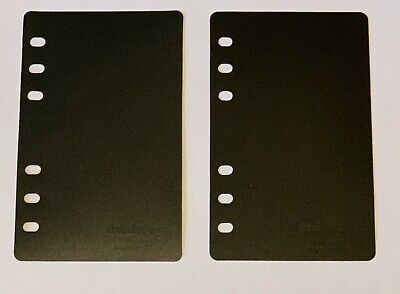 Franklin Covey Page Saver Lifter Set Of 2 Compact Size Planner Black