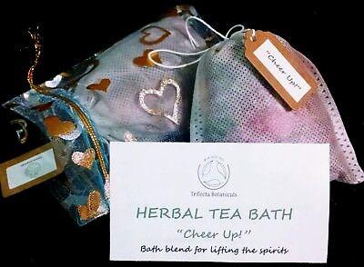 Ease Depression Herbal Bath Tea Apothecary Salt Soak Organic Herbs