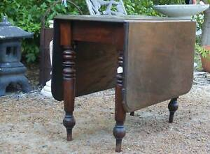 Mahogany Dropside table ,other tables ,antiques , etc. Martin Gosnells Area Preview