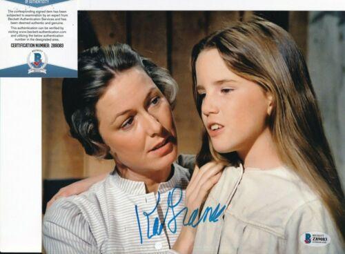 KAREN GRASSLE signed (LITTLE HOUSE ON THE PRAIRIE) 8X10 BECKETT BAS Z89083