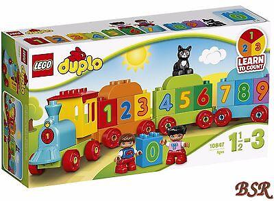 LEGO® DUPLO®: 10847 Zahlenzug & 0.-€ Versand & OVP & NEU !