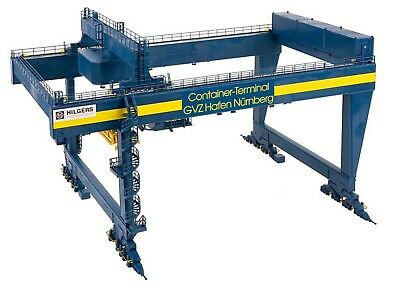 Faller 120291 Containerbrücke GVZ Hafen Nürnberg Neuheit 2020 Bausatz