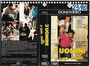 TRE-UOMINI-E-UNA-CULLA-1985-vhs-ex-noleggio