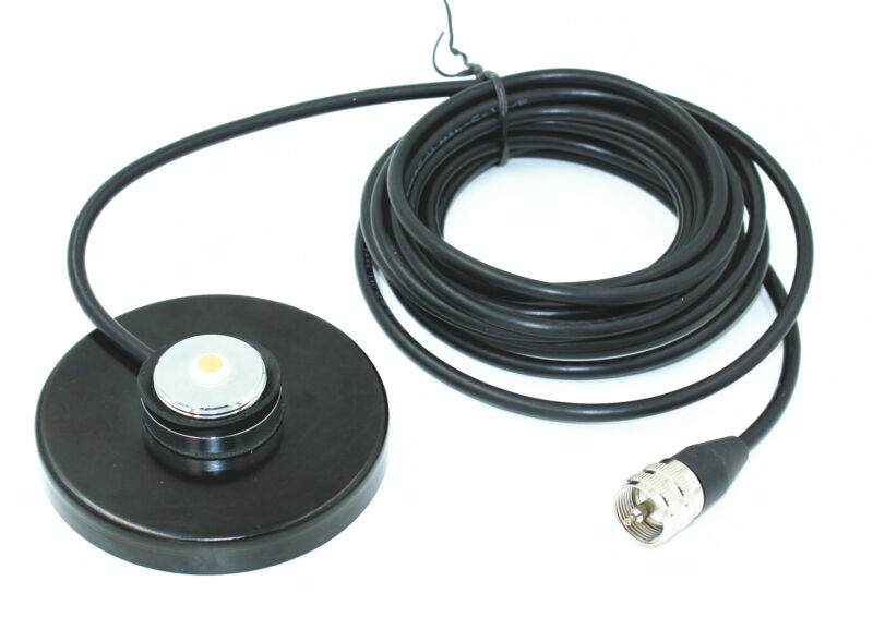 "NMO Magnetic Antenna Mount 3.54"" Diameter 15"