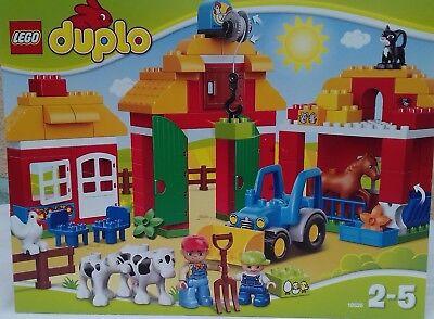 LEGO DUPLO-10525-LA GRANDE FERME AVEC NOMBREUX ACCESSOIRES-SUPERBE NEUVE !!!