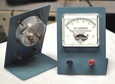 Sargent Welsh Scientific Dc Ammeter Model 2760a 0-5 Amp Vintage School Surplus