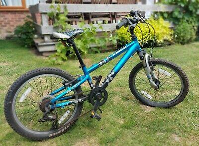 Used Boys Trek MT60 20 Inch Wheel Mountain Bike Blue Adj. Seat Good Condition