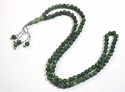 Prayer Tasbih (99) Beads Misbaha Tasbeeh Sebha - Long Green Color Masbaha # 60