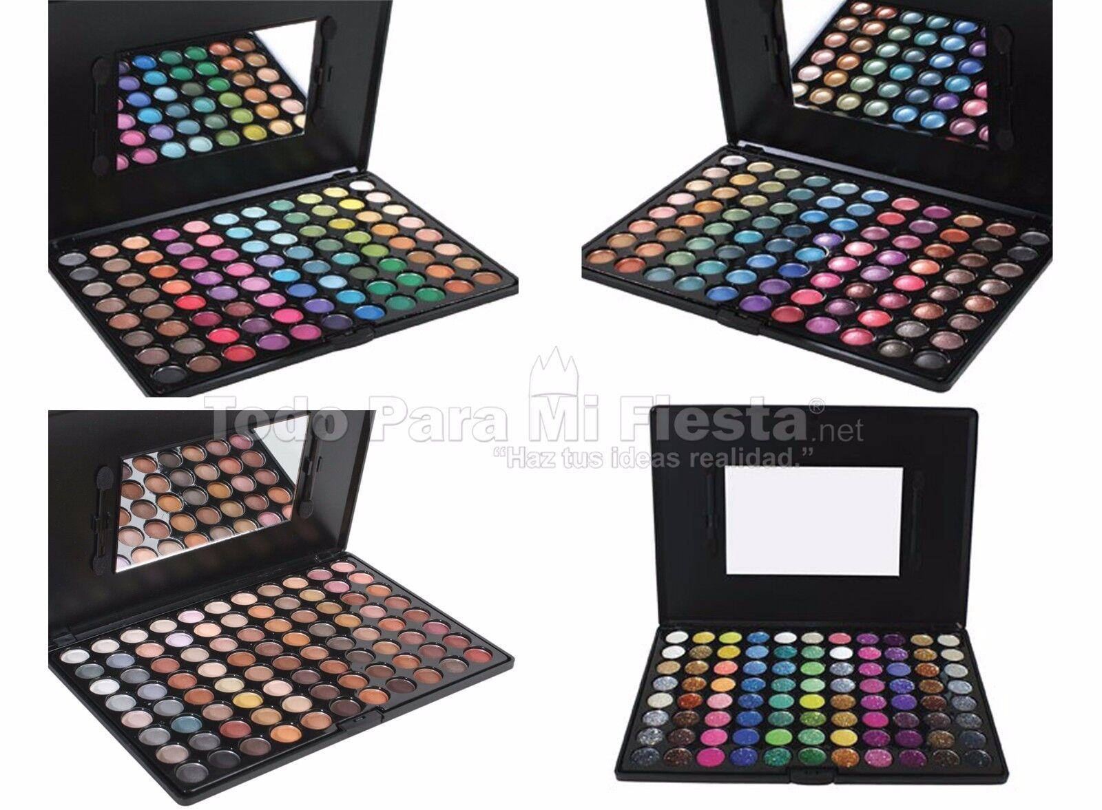 Beauty Treats Professional Palette Shimmer Glitter Warm Cool