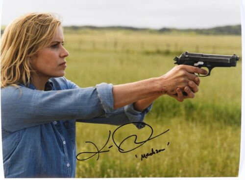 Fear The Walking Dead Madison Kim Dickens Autograph Signed Photo JSA 11x14