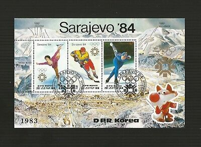 IC GAMES - SARAJEVO 1984 -  MINISHEET (Winter Pic)