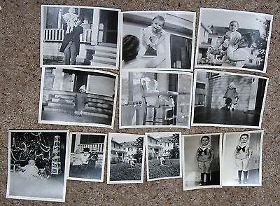 Lot of vintage 12 photos babies children 1920s high chair sailor suit baby  (Childrens Sailor Suits)