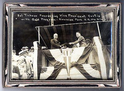 1931 KANSAS CITY MISSOURI Vice President Charles Curtis PHOTO Riverside Park MO