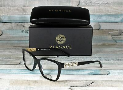 VERSACE VE3192B GB1 Black Demo Lens 54 mm Women's Eyeglasses