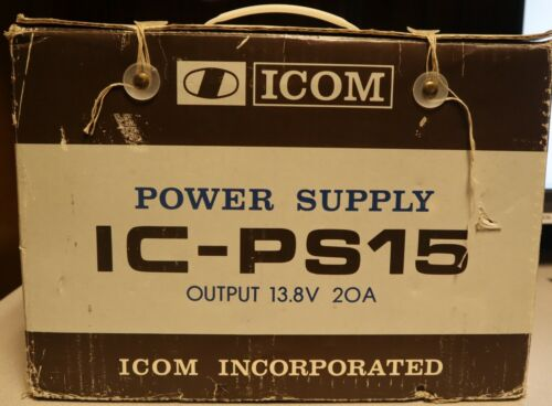 ICOM IC-PS15 POWER SUPPLY