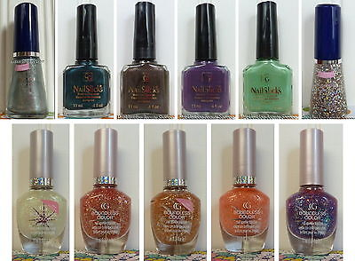 NEW COVER GIRL NAIL POLISH CONTINUOUS OR BOUNDLESS COLOR OR NAILSLICKS YOU PICK!