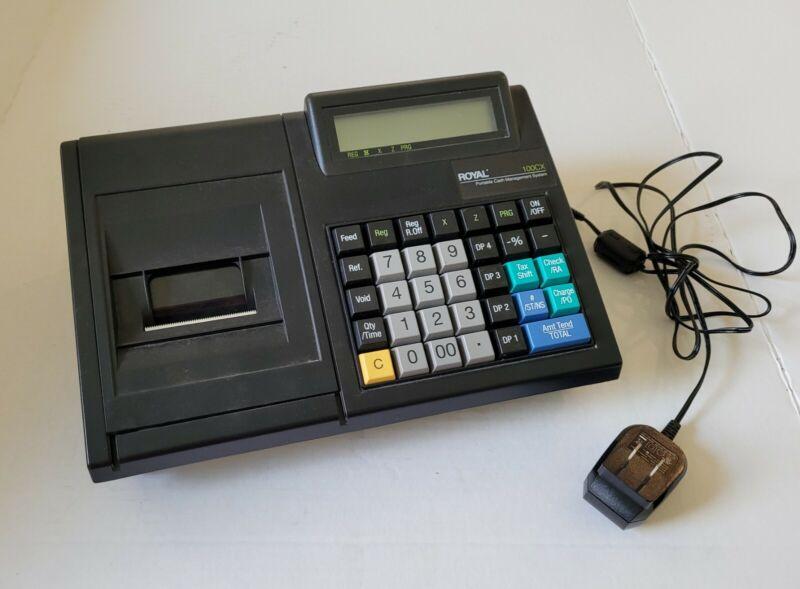 Royal 100CX Portable Cash Register AC Adapter w/ Battery Backup
