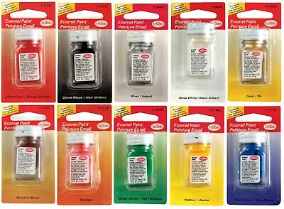 Testors Hobby Paint Multi Purpose   Surface Hobby Craft 1 4 Oz   Pick Color