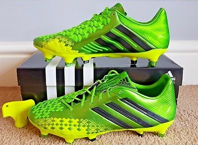 the latest bce21 af5a1 Predator LZ Lethal Zone TRX FG Football Boots Ray Green Black Electricity adidas  Q21663