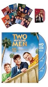 Two and a Half Men Seasons 1-10 Complete DVD Set 1,2,3,4,5,6,7,8,9,10 Brand New
