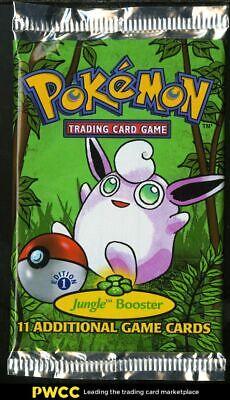 1999 Pokemon Jungle 1st Edition Booster Pack, Wigglytuff Art