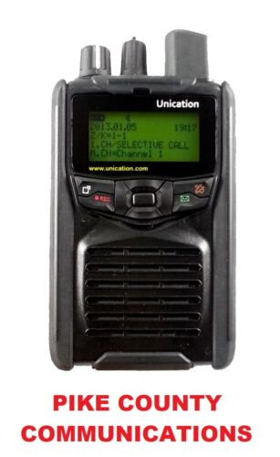 UNICATION G1 VHF UHF LOW BAND PAGER WITH CHARGER BRAND NEW!! AUTHORIZED DEALER!!